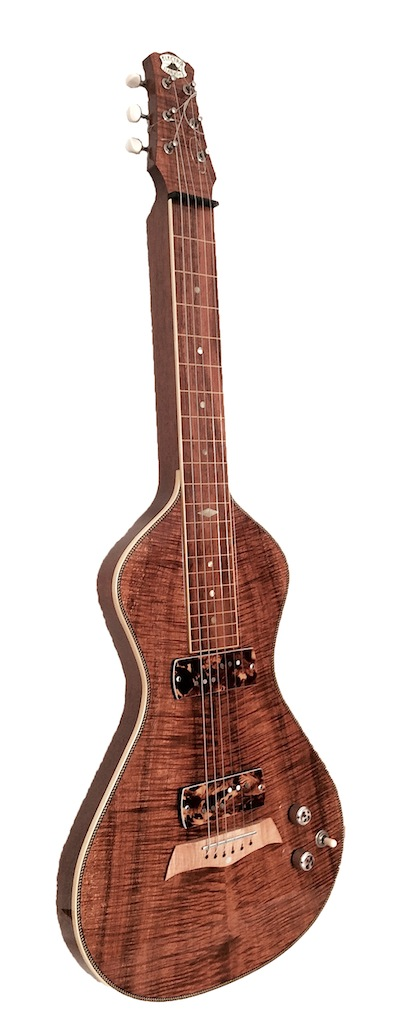 Koa Electric Lap Steel Guitar | Bill Asher (USA)